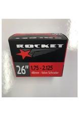 """ROCKET TUBE 26"""" X 1.95-2.35 SCHRADER 48MM"""