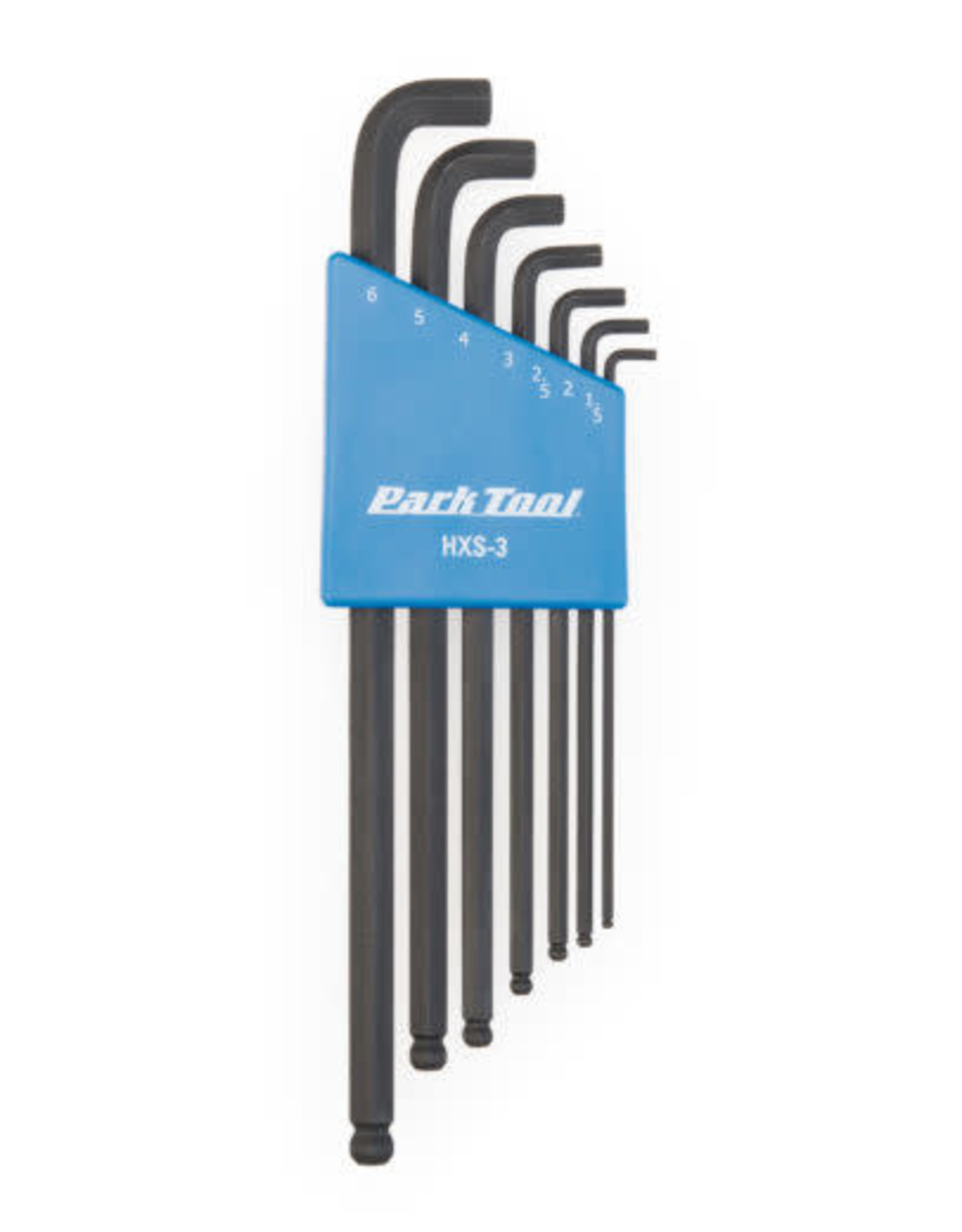 Park Tool STUBBY HEX WRENCH SET HSX-3