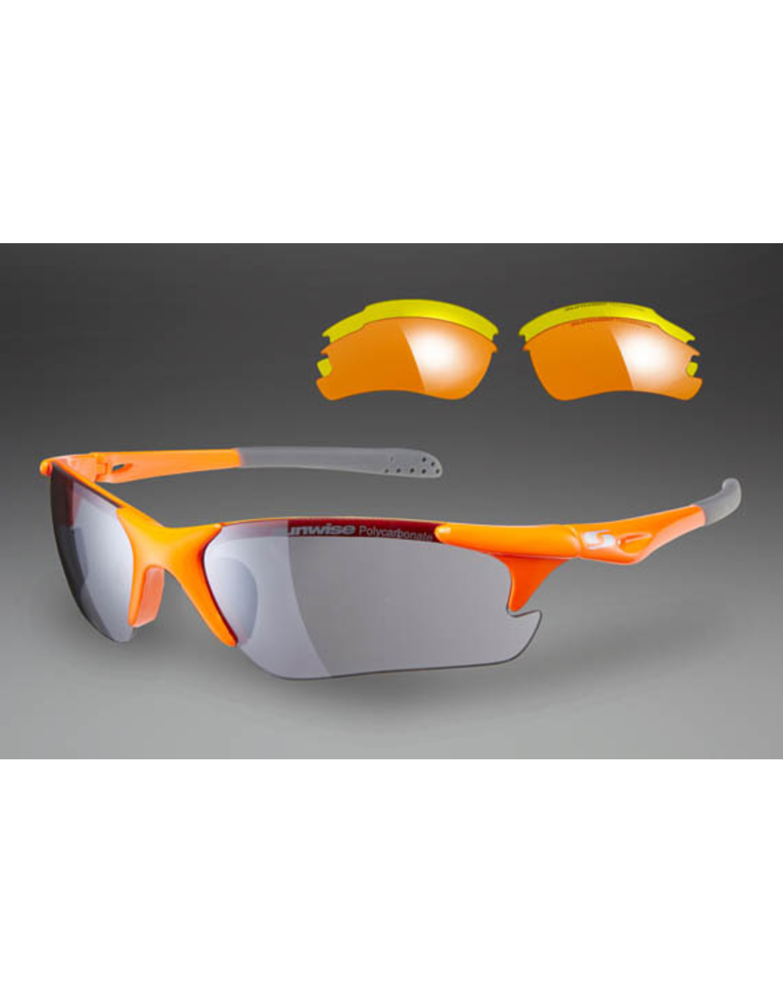 Sunwise Twister Cycling Sunglasses w/interchangeable lenses