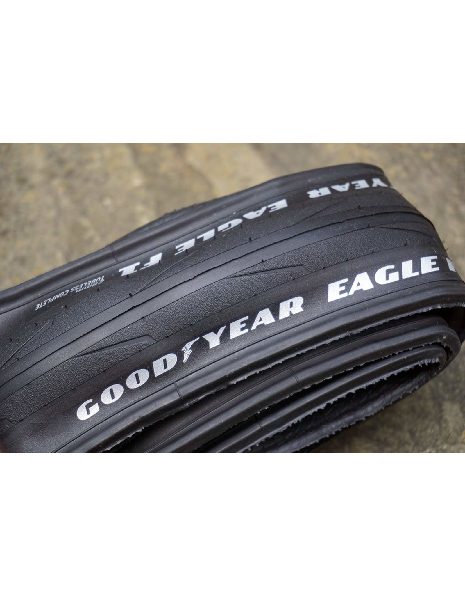 GOODYEAR EAGLE F1 TUBE TYPE TYRE FOLDING