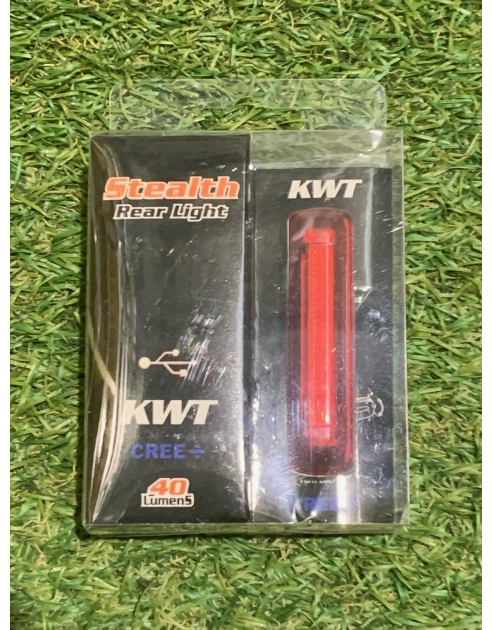 KWT STEALTH REAR LIGHT 40 LUMEN USB