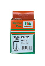 Duro Tube 700 x 23 Presta Valve 52mm