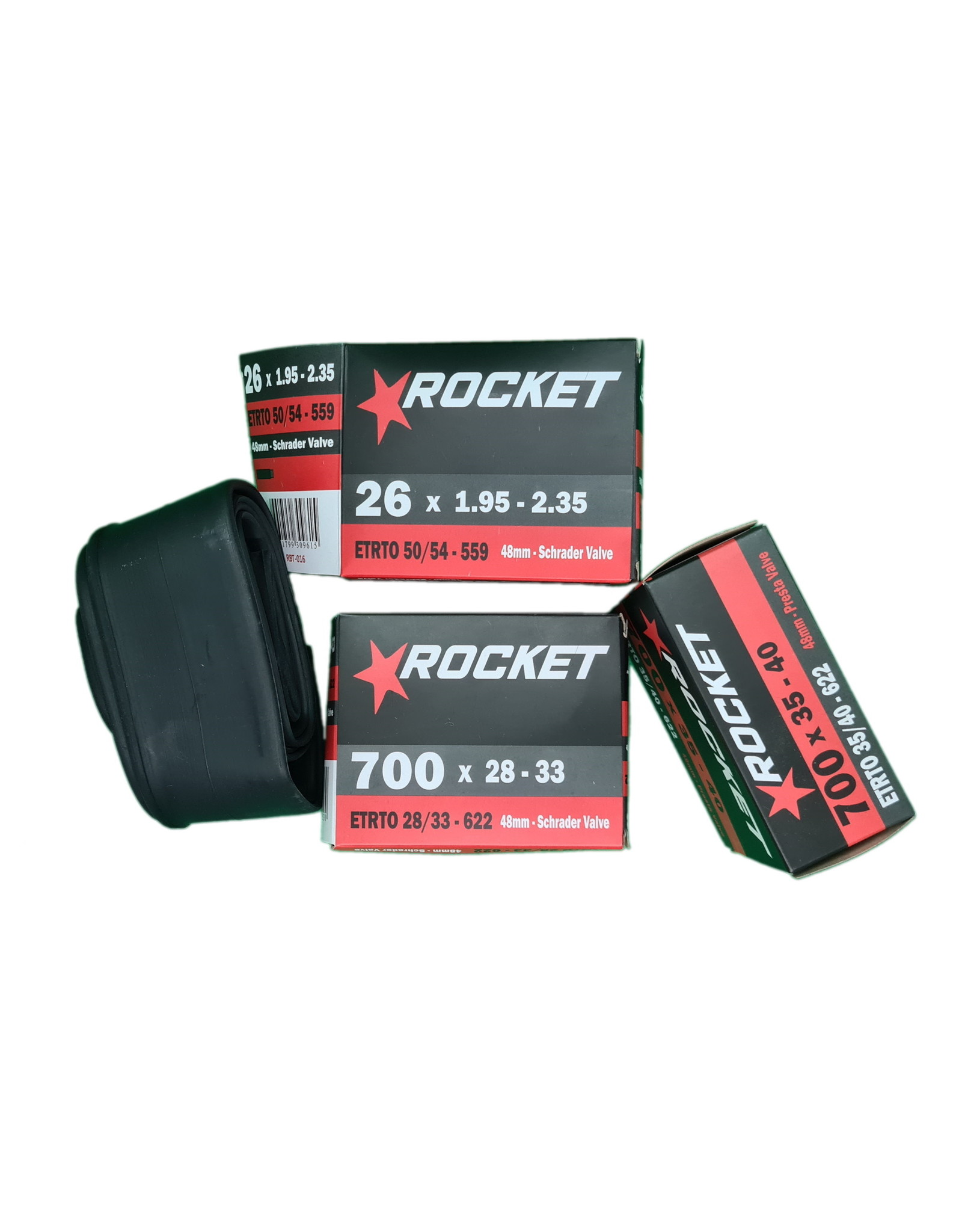 Rocket Tube 12 1/2 X 2 1/4 Schrader Bent Valve