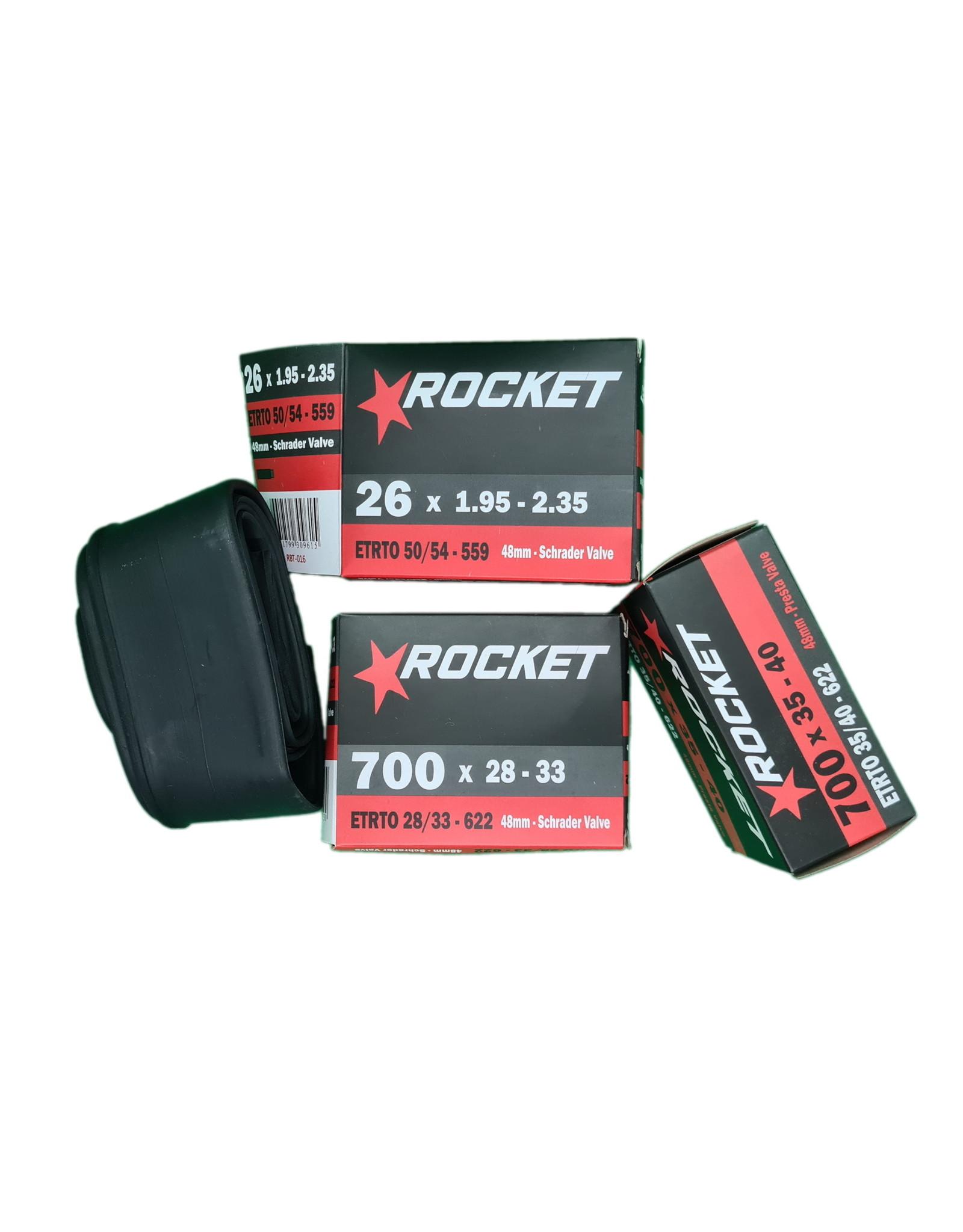 Rocket Tube 700 x 28/32 Schrader Valve