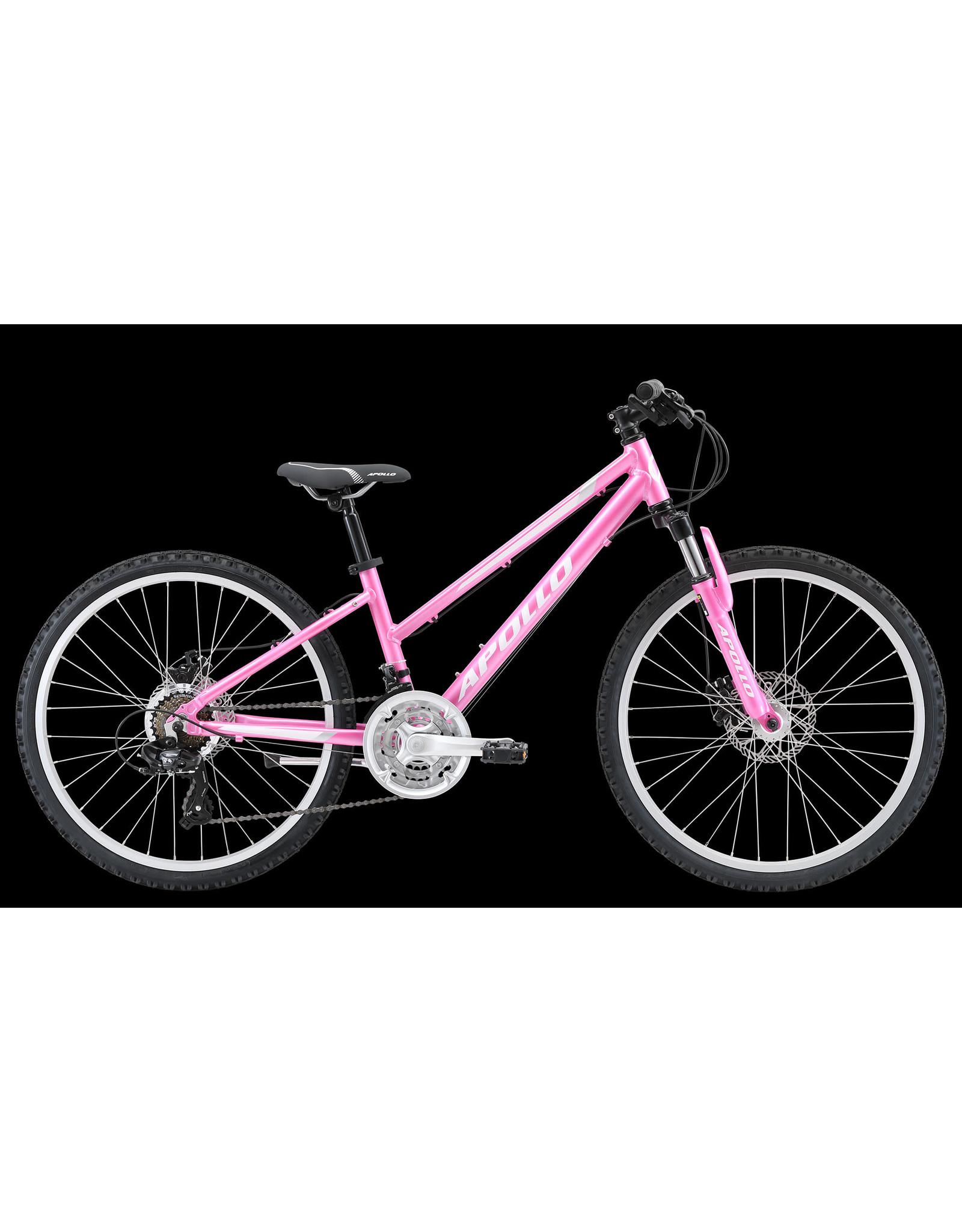Apollo Verve 24 Pink/White