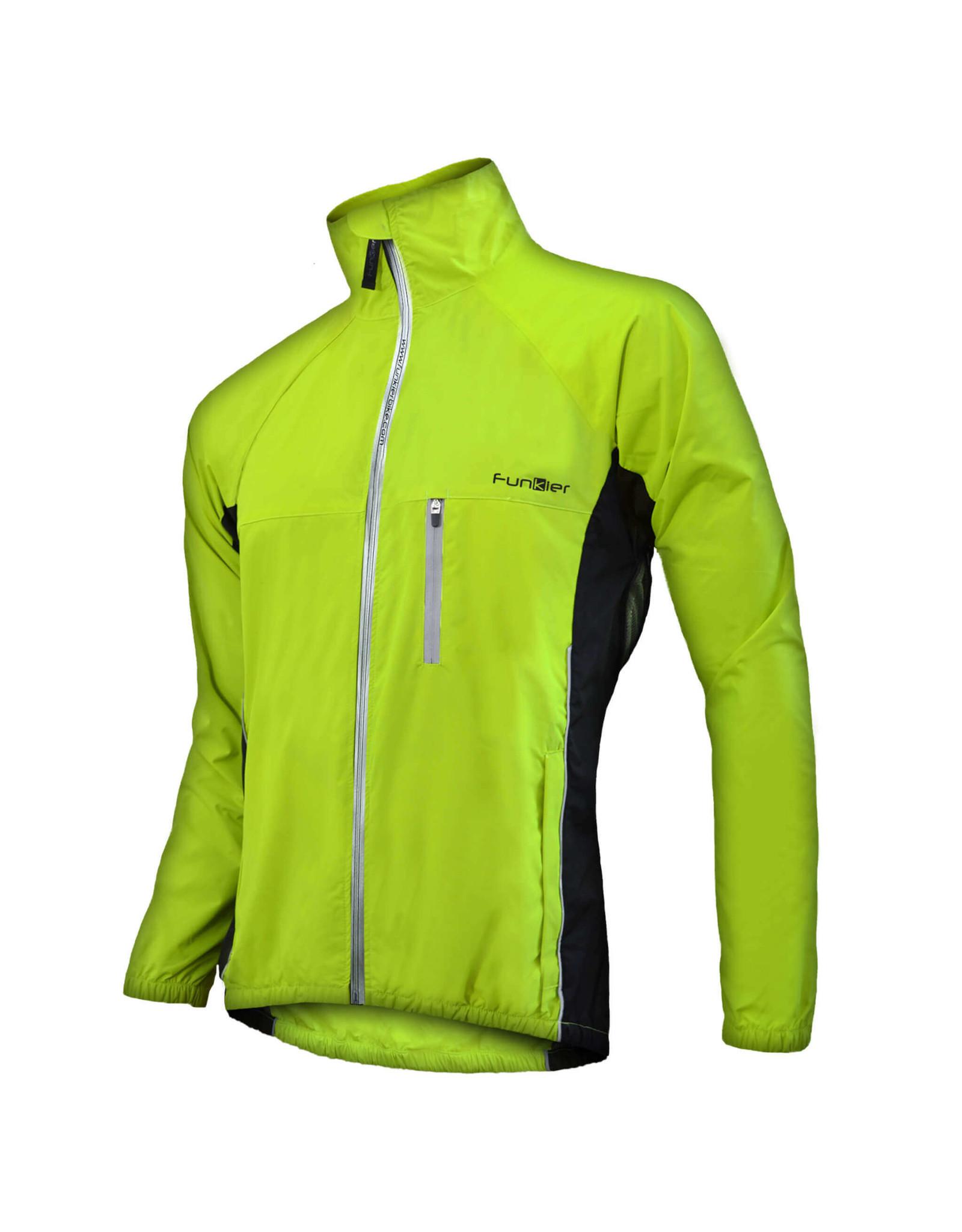 FUNKIER Lulno Yellow Waterproof Jacket