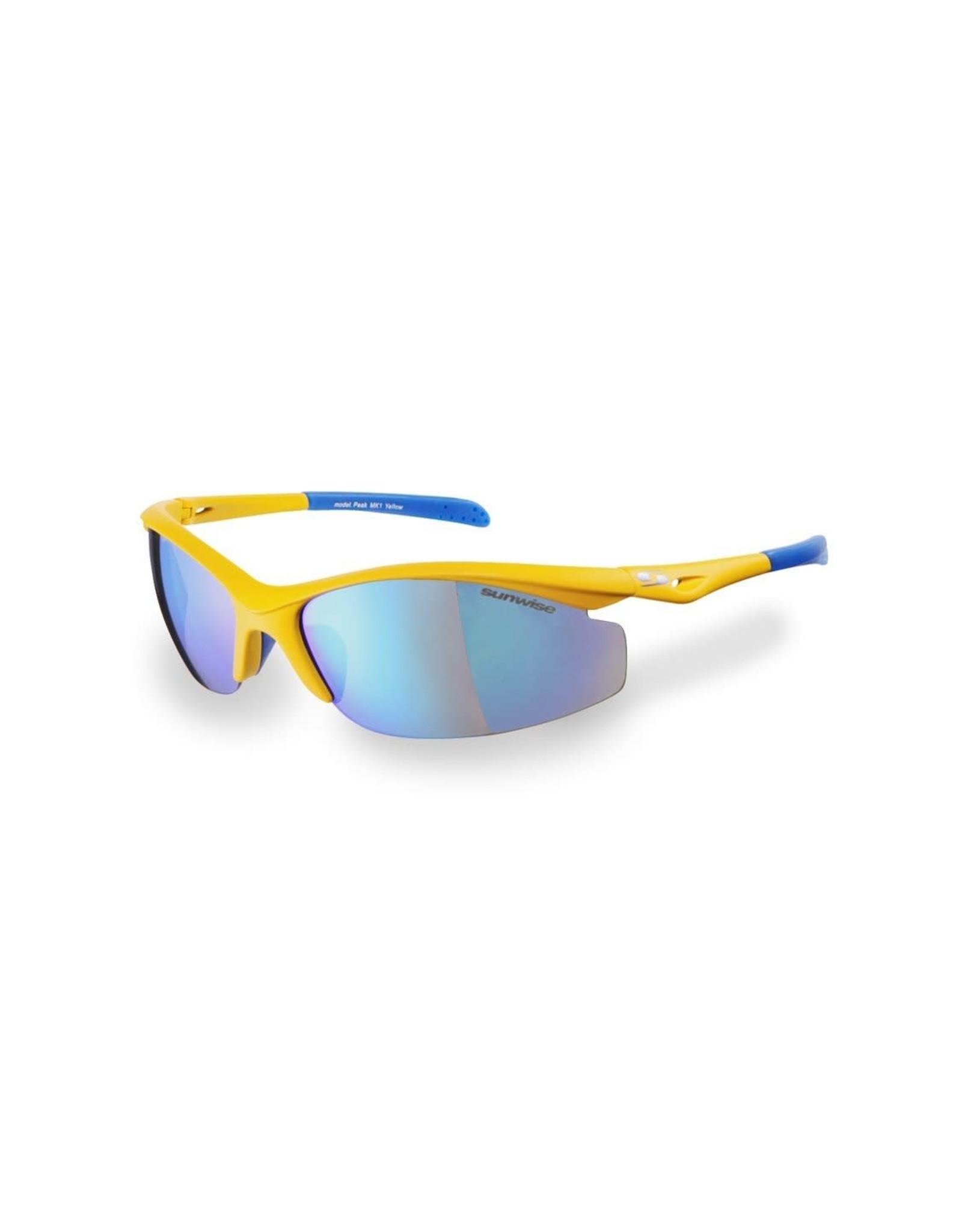 Sunwise Peak MK1 Cycling Sunglasses Yellow