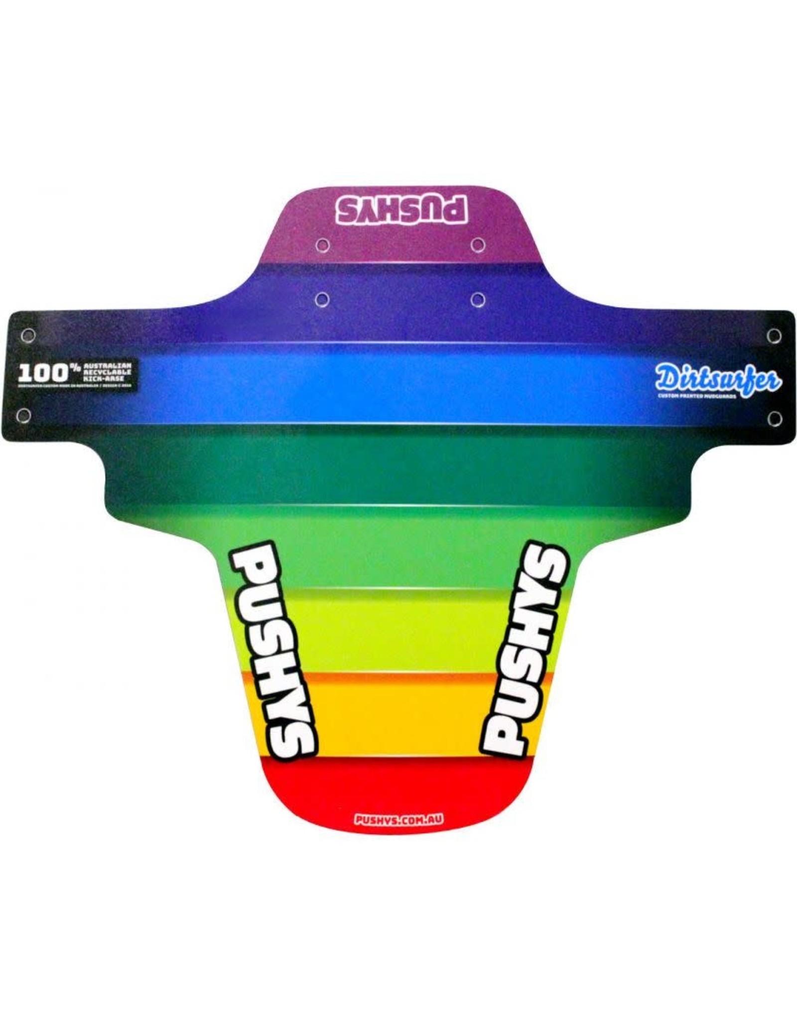 DIRTSURFER Printed MudGuard Rainbow