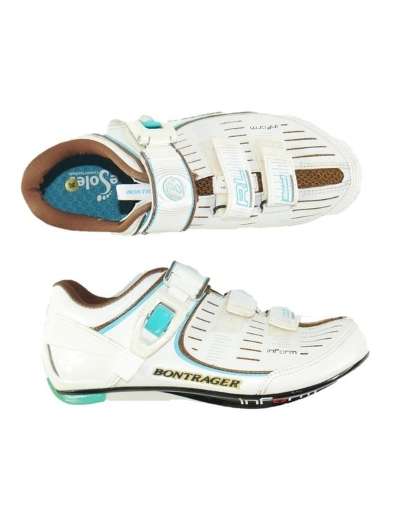 BONTRAGER RL Road Cycling Shoes Womens (New Old Stock) White 36