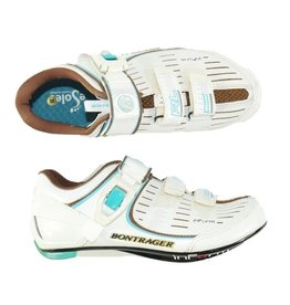 BONTRAGER RL Road Cycling Shoes Womens WHITE 36 (New Old Stock)