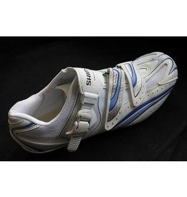 Shimano WR41 Womens Road Bike Shoe (New Old Stock) White/Blue 36