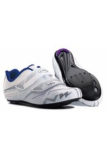 Northwave Eclipse Evo Womens Road Cycling Shoe  (New Old Stock) White/Gray 39