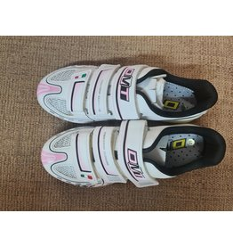 DMT Vision Womens Road Shoe (New Old Stock) White/Pink  37
