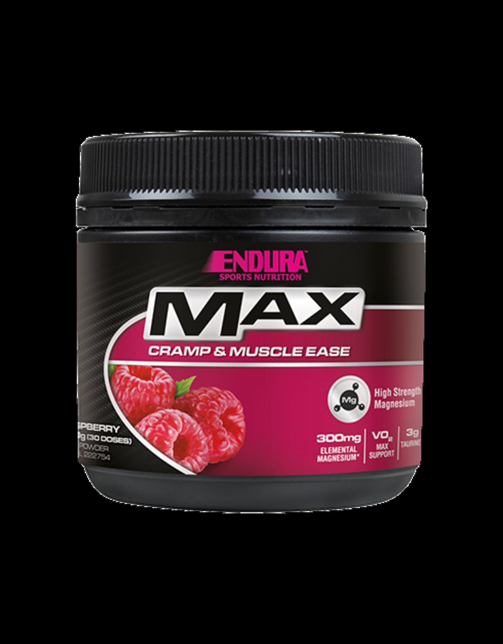 ENDURA Max Magnesium Muscle Ease Sports Nutriton Raspberry 260g
