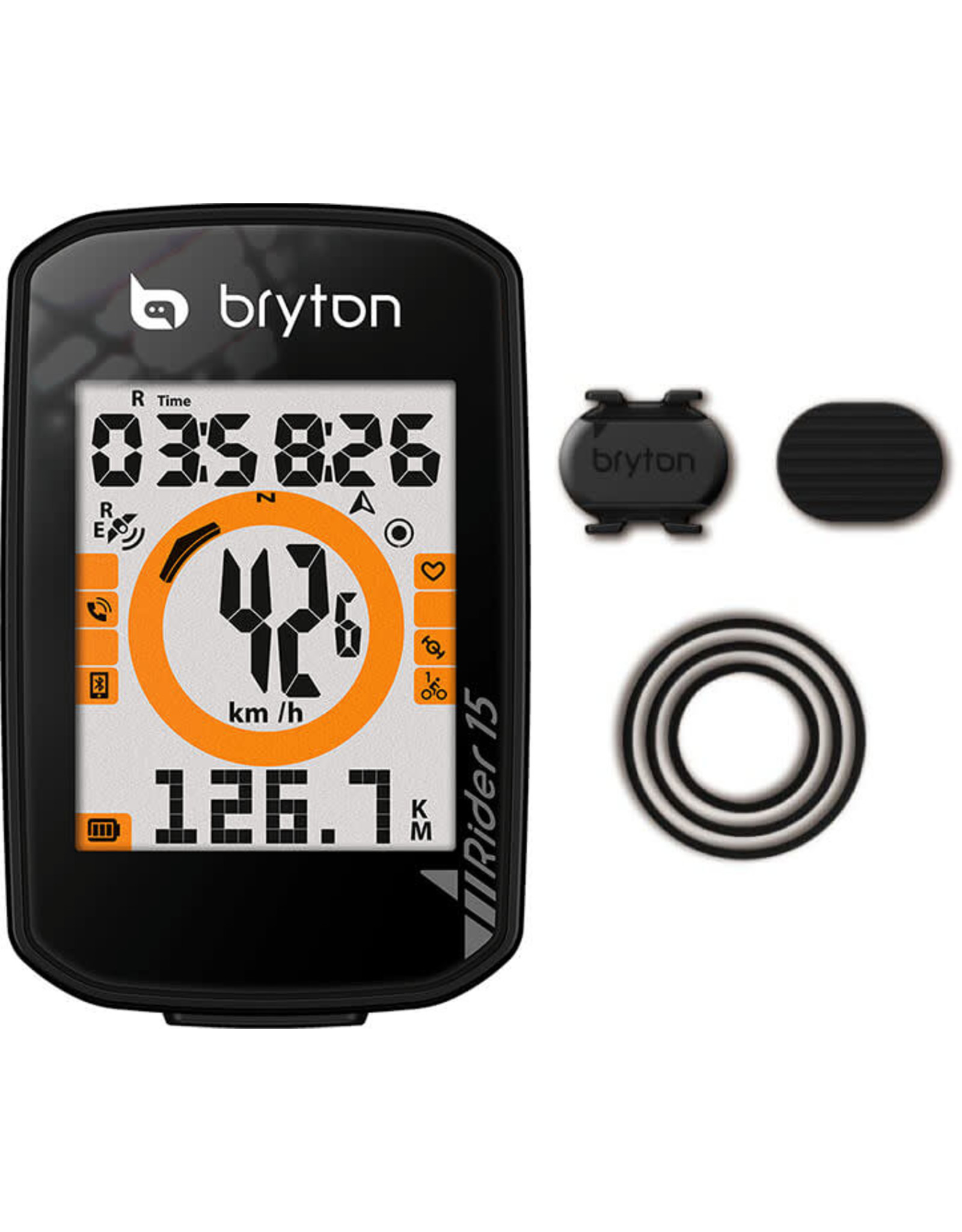 BRYTON Rider 15 Bicycle Computer w/Cadence