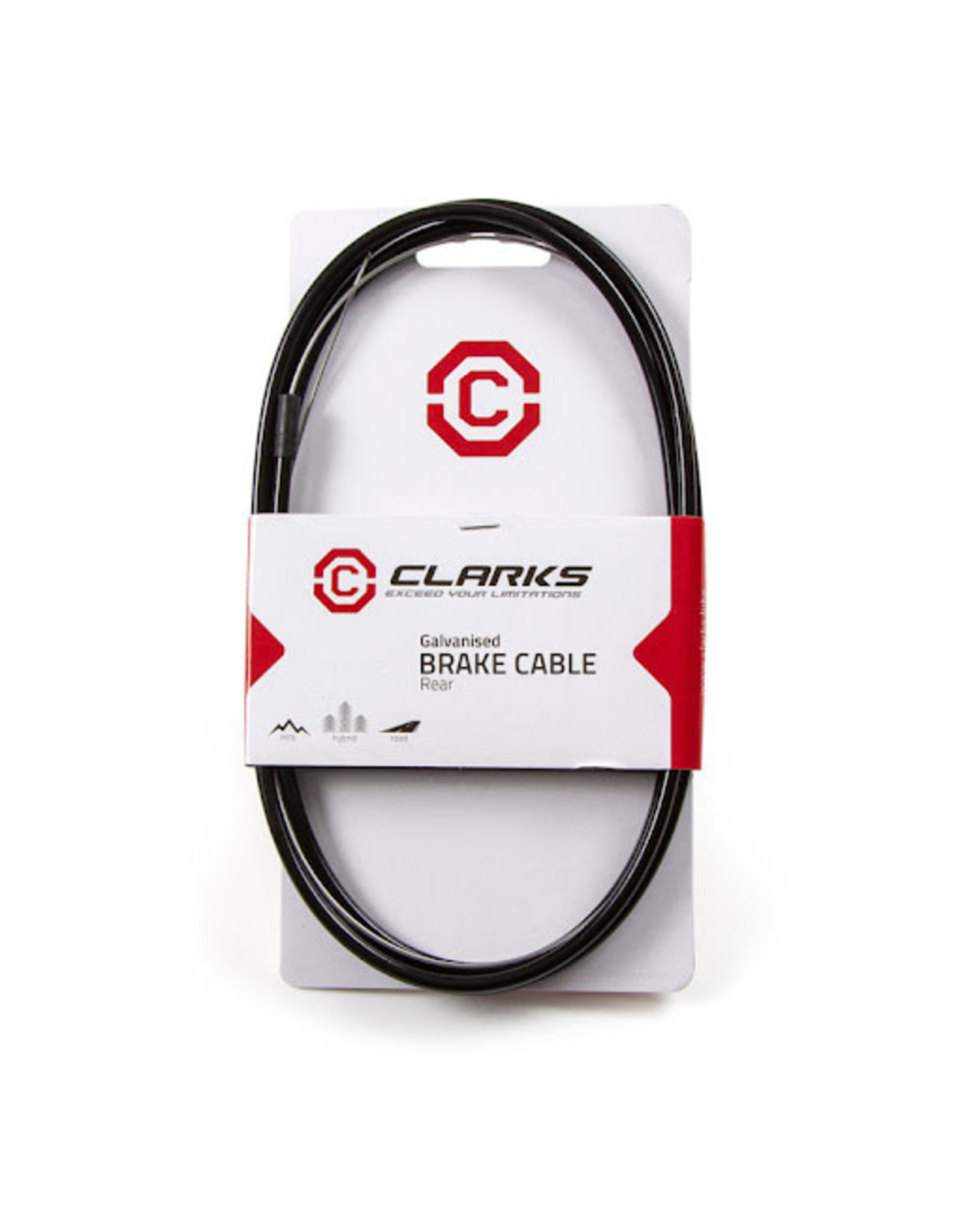 CLARKS Bicycle Brake Cable Set Stainless Steel