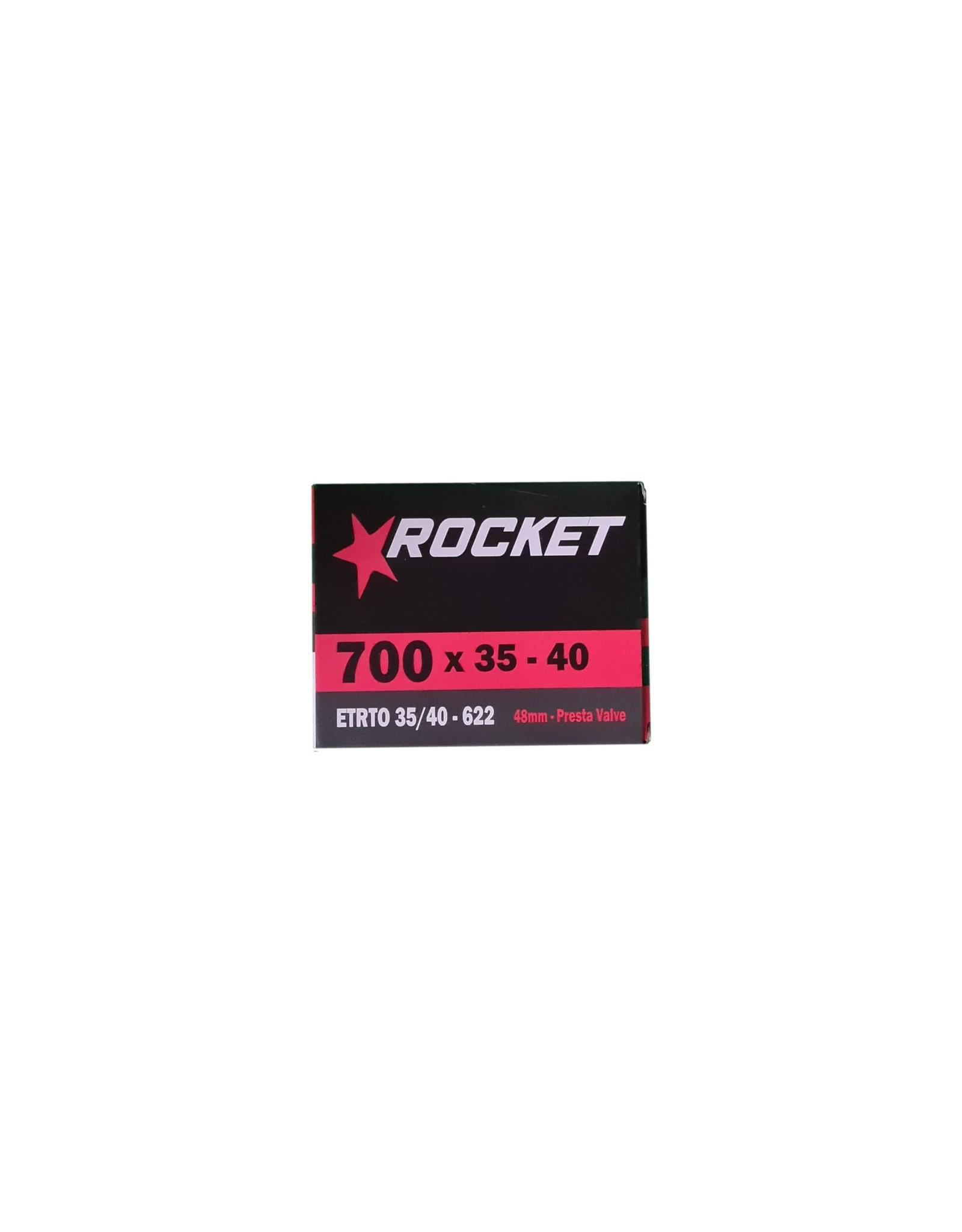 Rocket Butyl Inner Tube 700c x 35-40mm Presta Valve 48mm