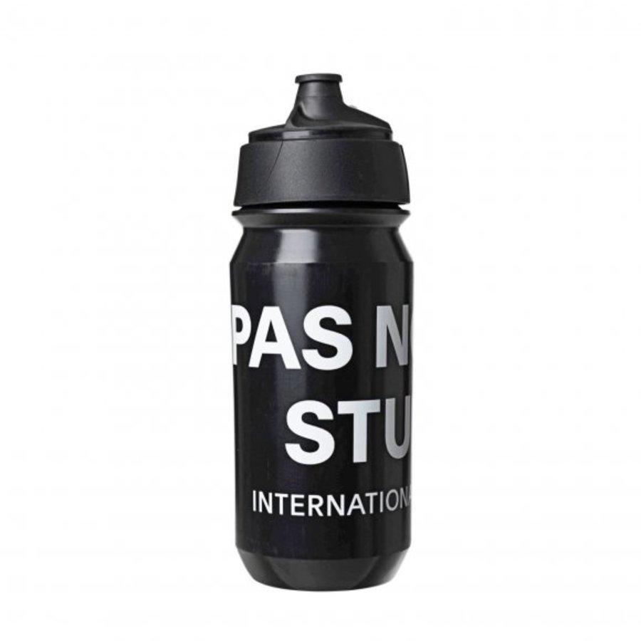 Pas Normal Studios Logo Bidon, Black, One Size