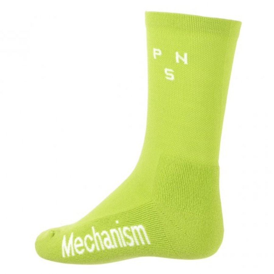 PAS NORMAL STUDIOS Logo Sock - Bright Lime