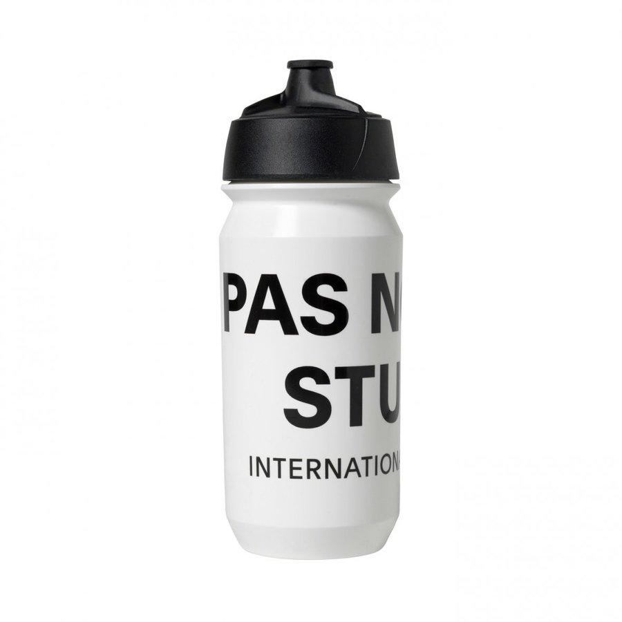 Pas Normal Studios Logo Bidon, White, One Size