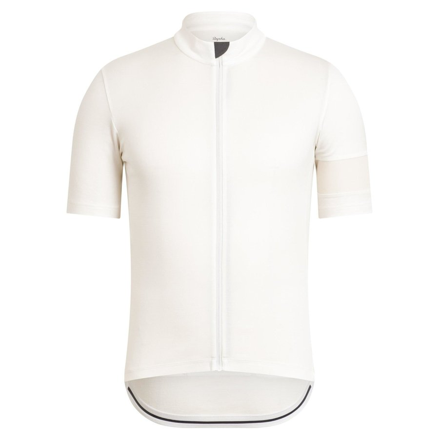 RAPHA Classic Short Sleeve Jersey - Off-White