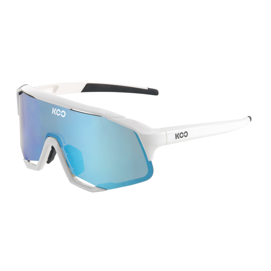 Koo Demos White Turquoise Sunglasses