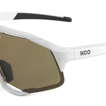 Koo Demos White Brown Sunglasses