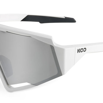 Koo Spectro White Silver Sunglasses