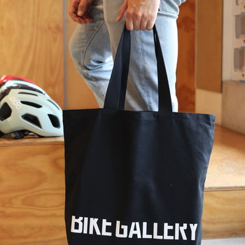 Bike Gallery Bike Gallery Logo Tote Black