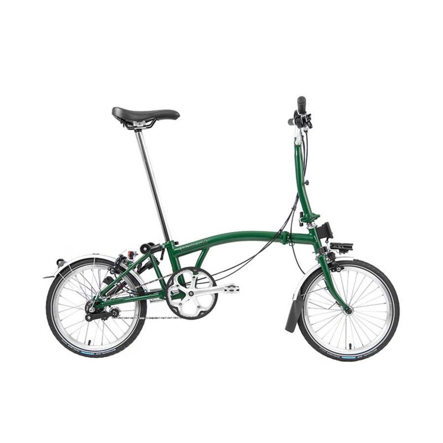 Brompton 2L (2 Speed) Commuter Bike Dark Green
