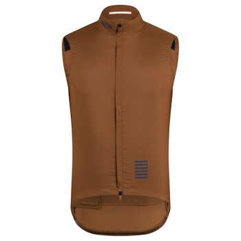 Rapha Pro Team Insulated Gilet - Brown