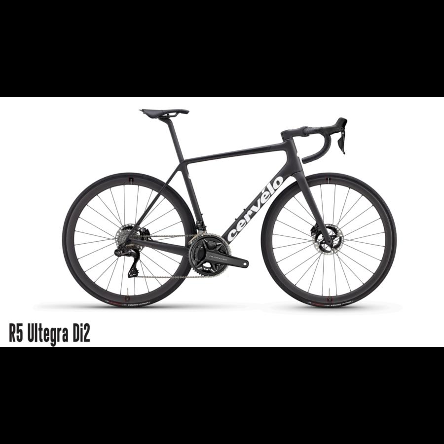 2022 Cervelo R5 - Five Black -  Ultegra Di2