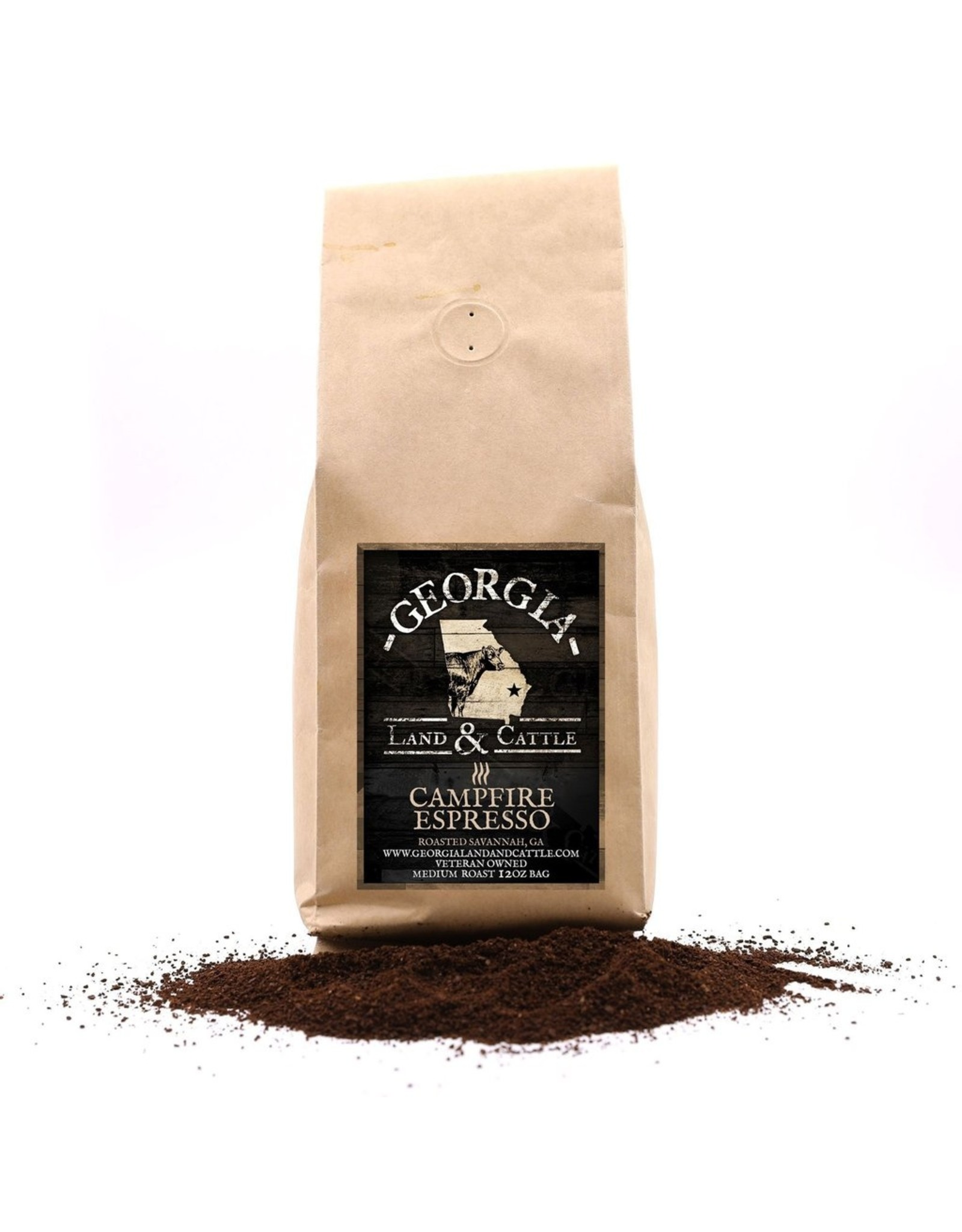 GA Land & Cattle GA Land & Cattle Campfire Espresso Coffee 12 oz