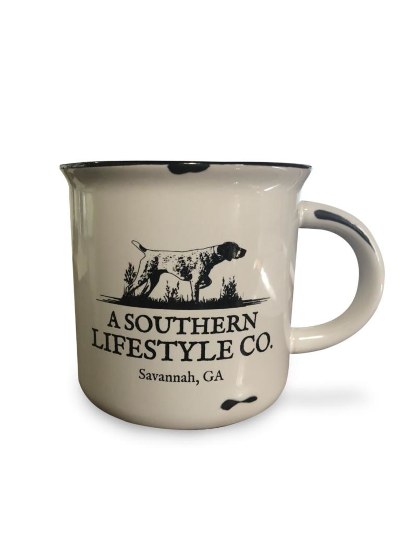 A Southern Lifestyle Campfire Coffee Cup White