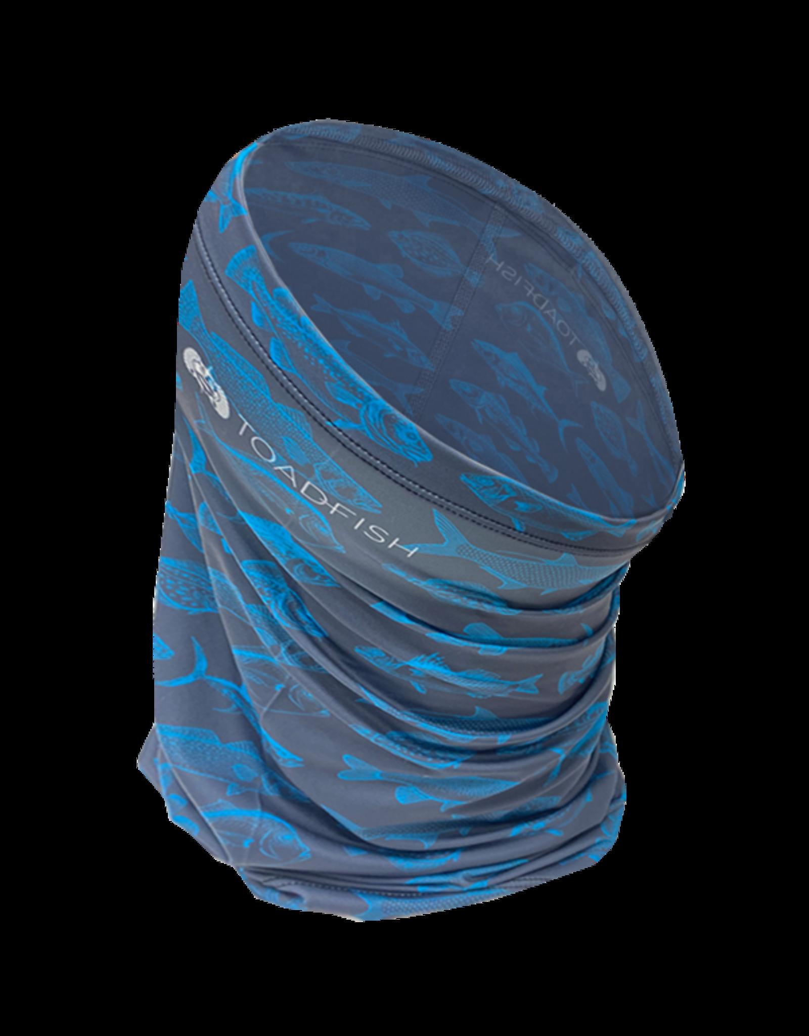 Toadfish UV Gaiter - Gray w/Fish Pattern