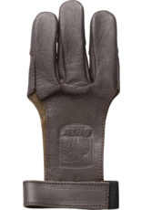 Bear Bear Leather Shooting Gloves Large