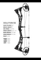 Bow Tech BowTech Solution SD RH 70lb Black Bow