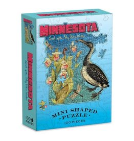 Minnesota Mini Shaped 100pc. Puzzle