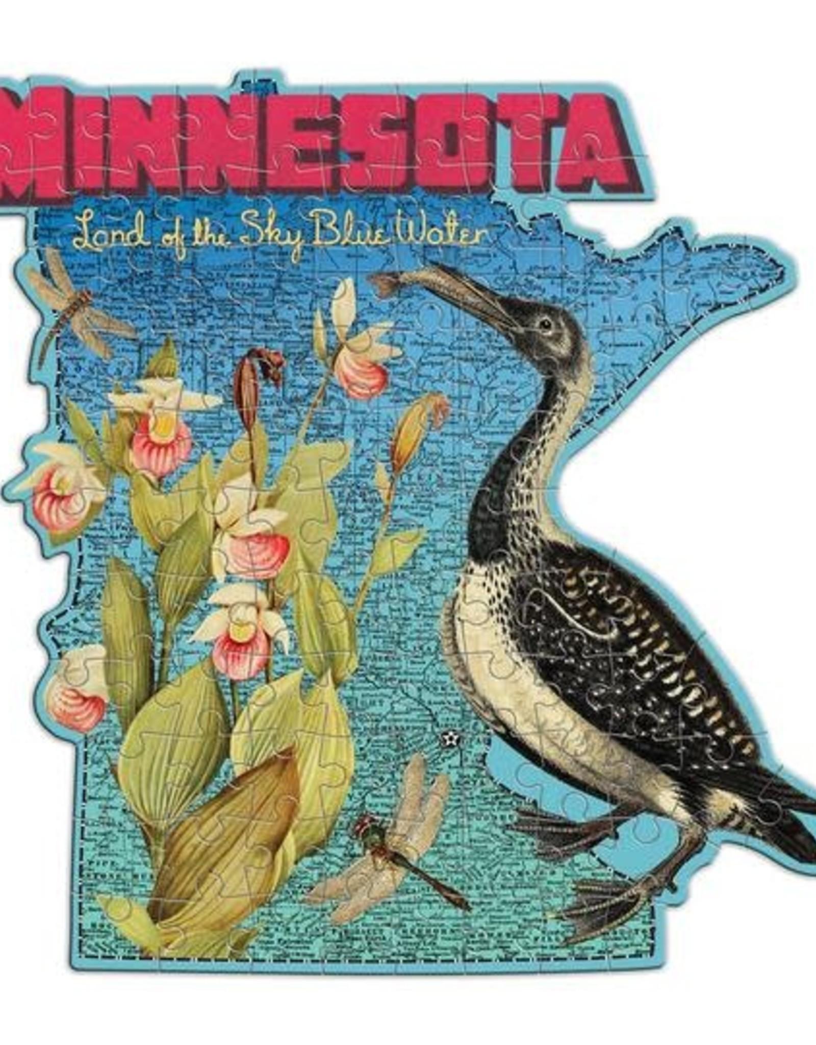 Minnesota Mini Shaped 100pc. Puzzle