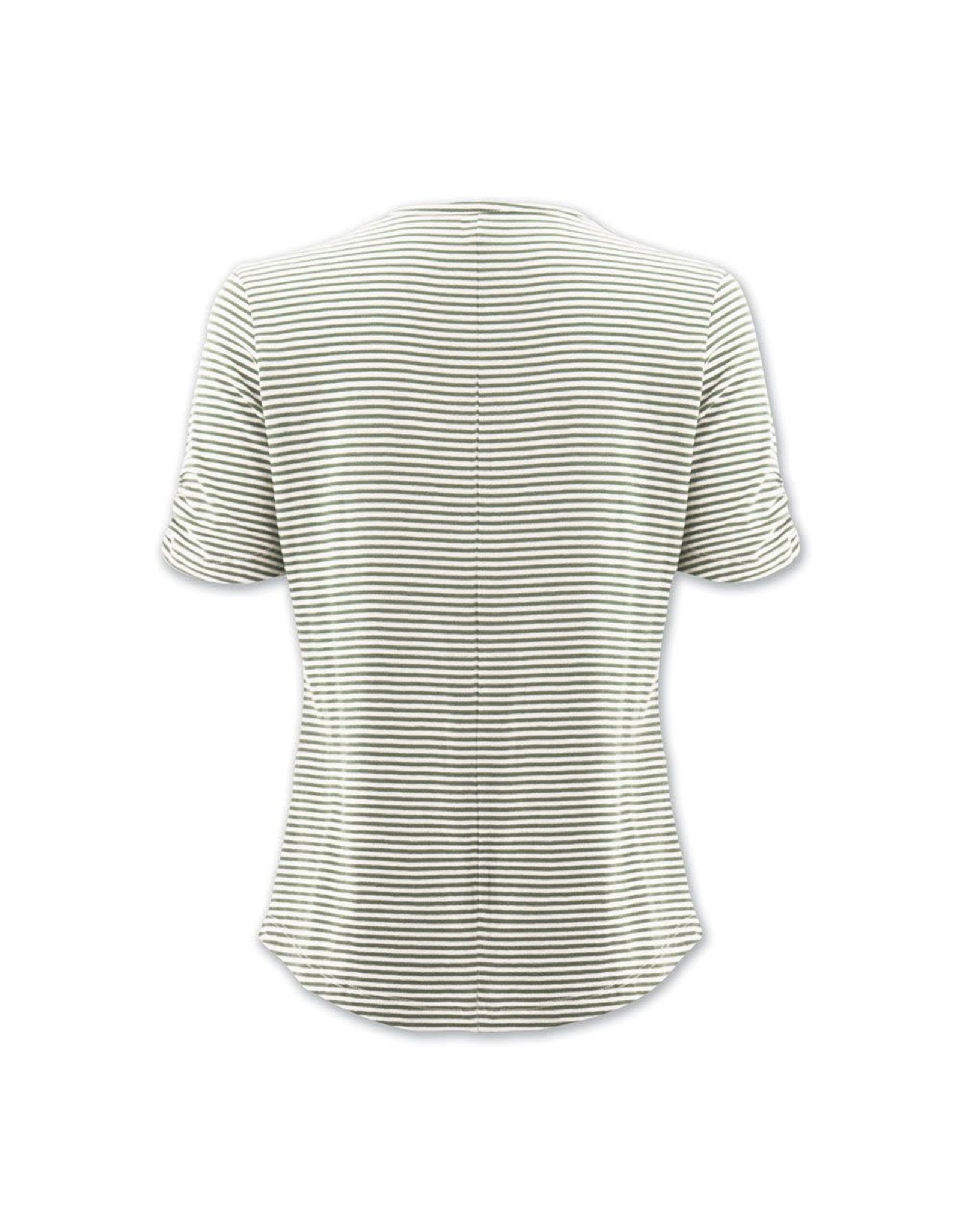 Aventura Green Striped Organic Cotton Top