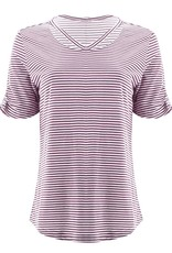 Aventura Grape Striped Organic Cotton Top