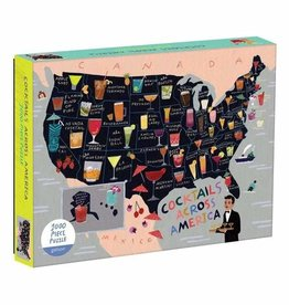 Cocktails Across America 1000pc. Puzzle