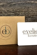 $100 Evelie Blu Gift Card