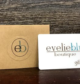 $100 Evelie Blu Gift Card