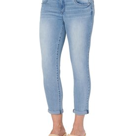 Democracy Light Wash Ankle Skimmer Jean