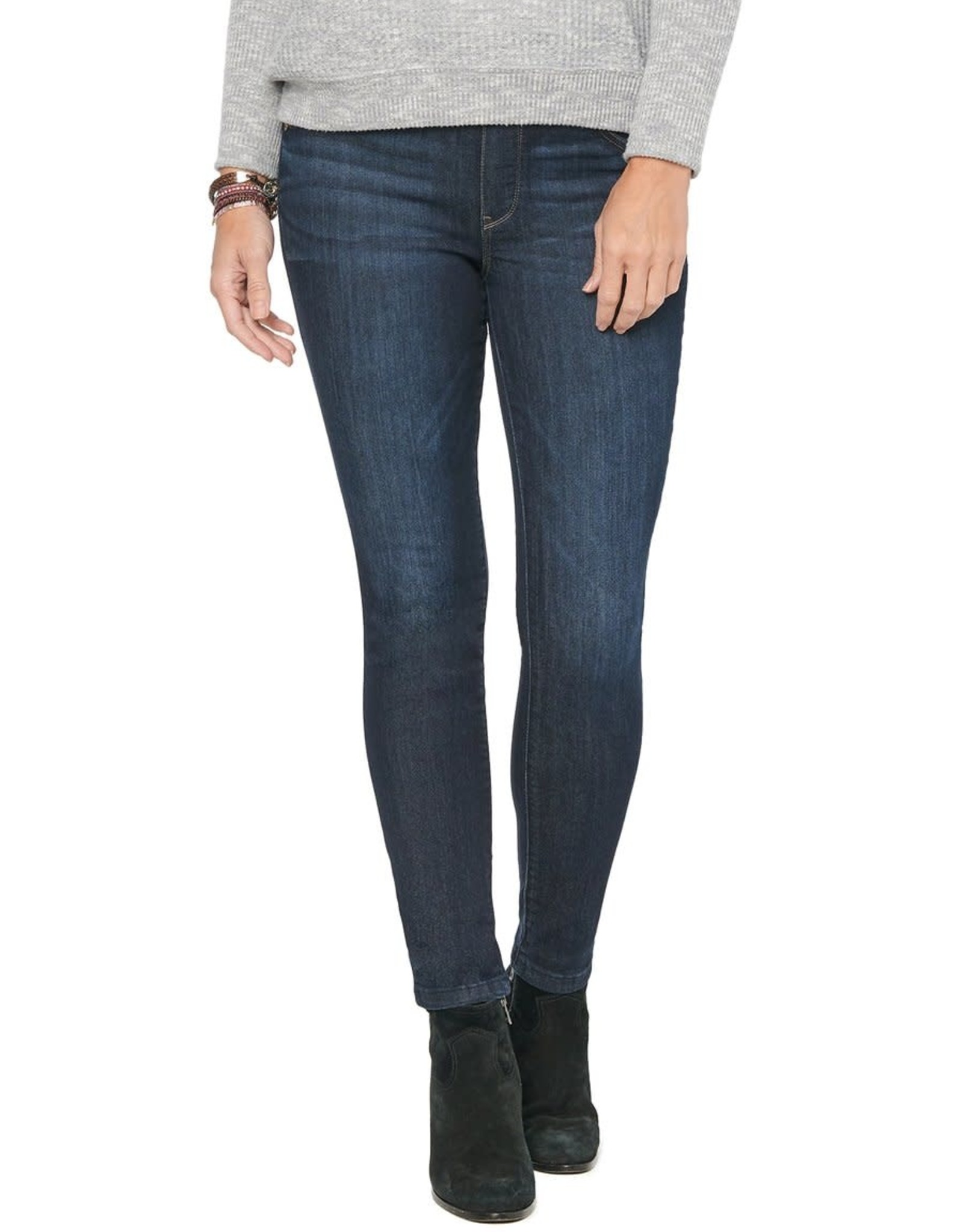 Democracy Indigo Pull-On Skinny Ankle Jean