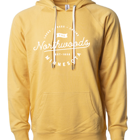Light Mustard Northwoods MN Sweatshirt