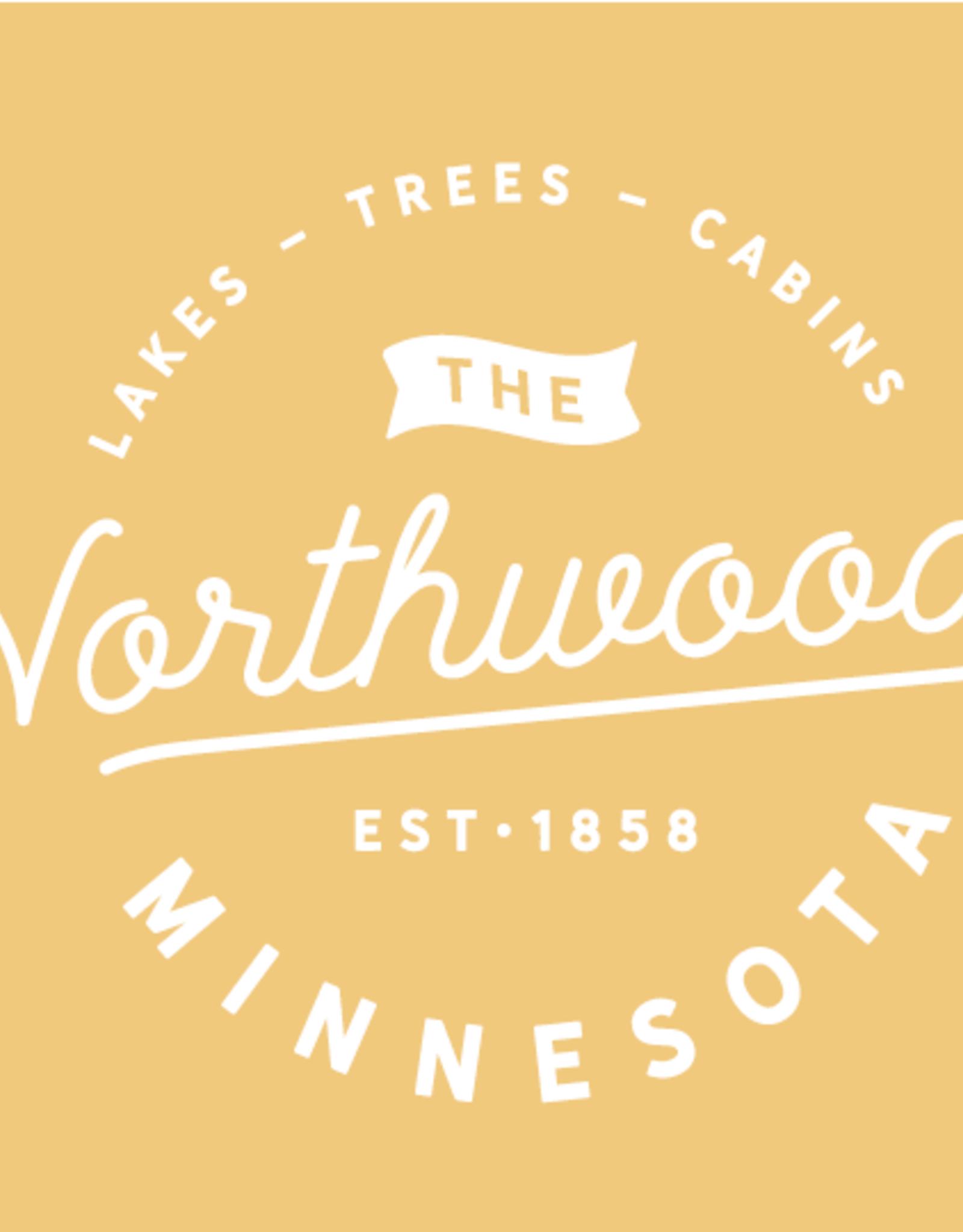 Light Mustard Northwoods MN Sweatshirt