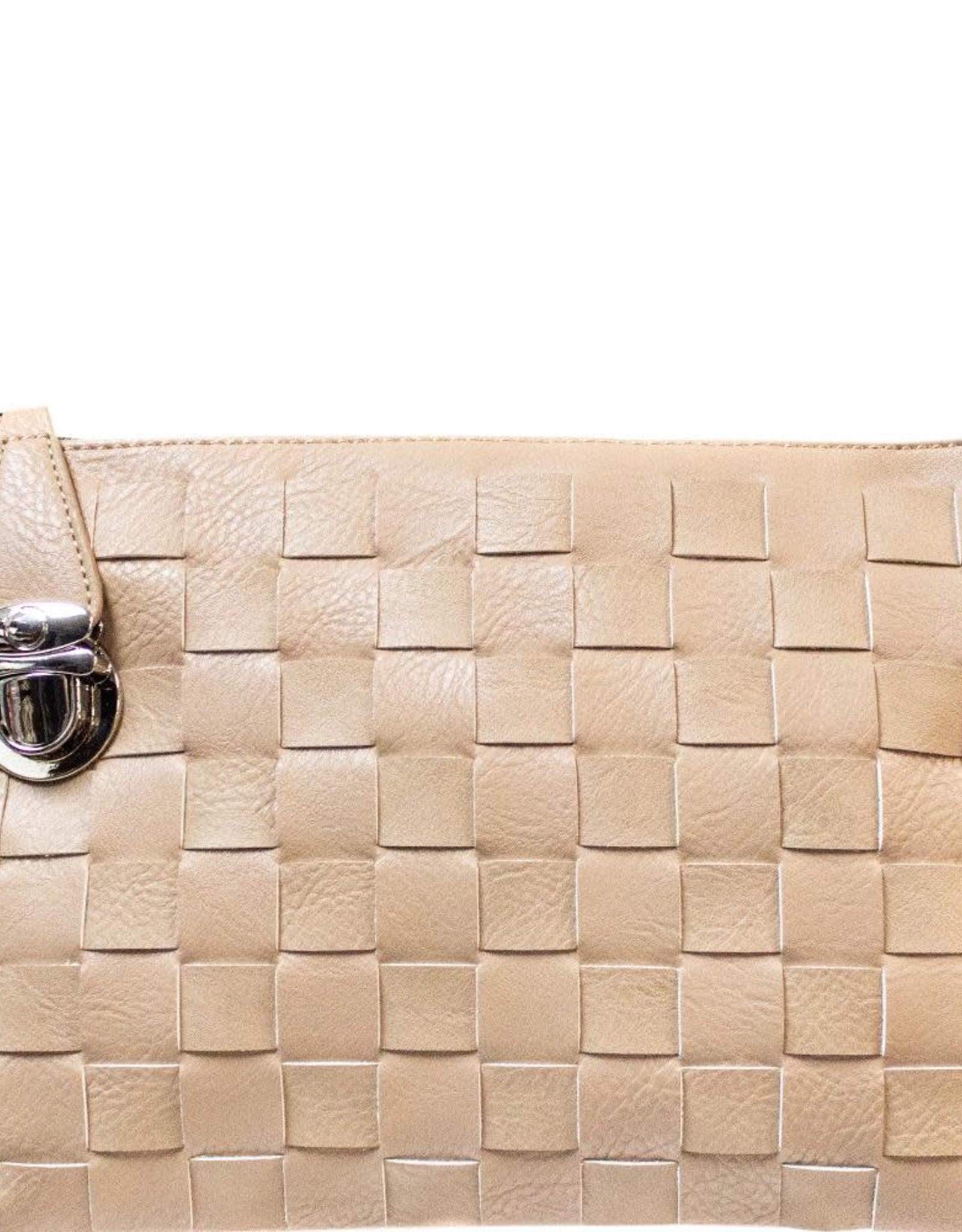 Taupe Crossbody/Clutch