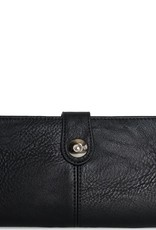 - Black Checkbook Wallet